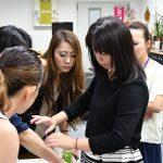 蝶式糸除毛講座スクール風景写真、受講生のお声 2017年6月