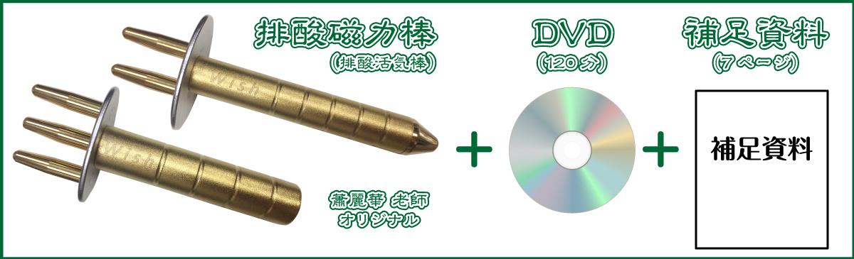 排酸磁力棒DVDセット