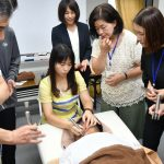 排酸術の実習